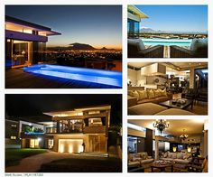 A beautiful home expressing flamboyant finishes, overlooking the best view in Cape Town. Enchanting deck and pool entertainment area. Pure quality and style epitomize this home. This Pam Golding property is listed at R CLICK IMAGE FOR MORE INFORMATION. Beautiful Homes, Most Beautiful, Entertainment Area, 3 Bedroom House, Cape Town, Nice View, Deck, Pure Products, Mansions