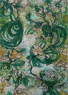 Green Dance by Victoria Zukovska