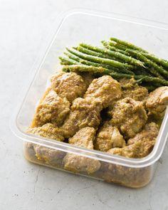 糖質オフのつくりおき<タンドリー風チキン>のつくり方!お肉をがっつり食べても太らない! Green Beans, Chicken, Vegetables, Recipes, Food, Essen, Vegetable Recipes, Meals, Eten