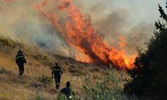 Σε εξέλιξη πυρκαγιά στο Παραμάλι Λεμεσού