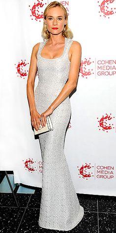 DIANE KRUGER este vestido me tiene enamorada :)