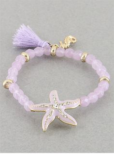 Soft purple bracelet