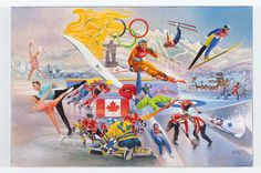 Winter Olympics Painting by Mark Grey Olympic Paint, Gcse Art, Winter Olympics, Grey, Painting, Winter Olympic Games, Gray, Paintings, Draw