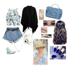 """""""Meeting Nash at the meet and greet."""" by alexagamez on Polyvore featuring Chicnova Fashion, Pieces, Converse, Casetify, Banana Republic and Proenza Schouler"""