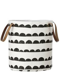 white bucket storage http://omydarlingsblog.blogspot.com/2013/05/a-little-man-nursery.html