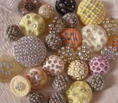 buttons, images | Inspirações: Botões vintage, final do século XIX e começo do ...