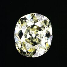 The Eureka was discovered per chance by a 15-year-old boy, Erasmus Jacobs in 1867 at Kimberly, South Africa. The rough diamond weighed 21.25ct and is attributed to starting the great Kimberley Diamond Rush in South Africa.