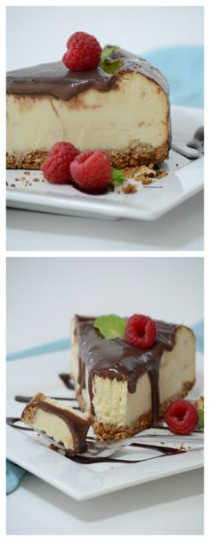 Recipes | This is one of the best Cheesecake Recipes we have tried. It is a family favorite. Cover with chocolate or raspberry sauce and you have a winner! MichaelsMakers The Idea Room