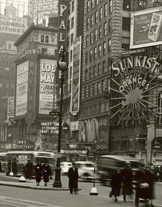 New York City, 1937  #holiday