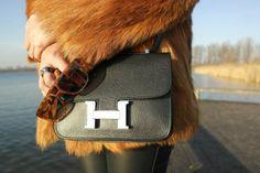 Fashion blogger Mission To Style   Vintage, Fur, Hermes, Super Retro Future  http://www.missiontostyle.nl/2014/01/vintage.html?m=1