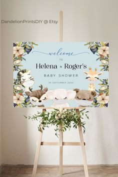 This adorable welcome sign for a precious boy baby shower is fully editable and an instant download. #babyshowerdecor #babyshower #babyboyshower Baby Shower Printables, Party Printables, Baby Boy Shower, Baby Showers, Sprinkle Invitations, Baby Sprinkle, Diy Baby, Baby Shower Decorations, Sprinkles