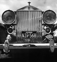 Auto Focus: Walker Evans on Rolls-Royce | LIFE.com
