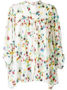 Compre Carina Duek Camisa bordada.