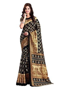 This saree is crafted by skilled workers without compromising on its quality. Blouse in the image is for representational purpose, this saree comes with unstitched blouse. There may be colour variation due to flash light used in photography This Black coloured Cotton Bhagalpuri Silk material for Indian Women from the house of Livery is designed as per the latest trends to keep you in sync with high fashion and with your wedding occasion. Made from Cotton Silk fabric, it will keep you…