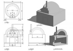 File:Building plans for a 42 inch igloo brick pizza oven - Pinkbird Build A Pizza Oven, Pizza Oven Outdoor, Outdoor Cooking, Masonry Oven, Pizza Oven Fireplace, Bricks Pizza, Oven Diy, Earth Bag Homes, Brick Hearth
