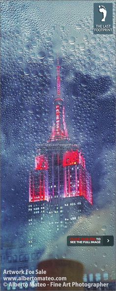 """NEW YORK THROUGH THE RAIN"" Series, ARTWORK FOR SALE 