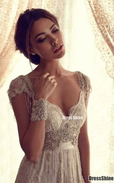 Beautiful lace elegant and flowy