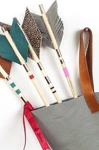 Decorative Arrows and do the pillows one! | 19 DIY Projects For When You're Stuck Inside For God Knows How Long
