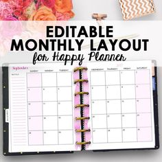 1950 Best PLANNERS images in 2019 | Printable planner