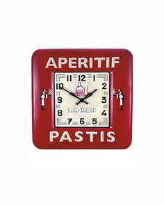 Wall clocks: Bistro