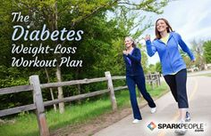 The 8-Week #Diabetes Weight-Loss Workout Plan: Take control of your health, fitness and weight today! | via @SparkPeople #exercise #health