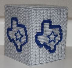 Dallas Cowboys Tissue Box Cover by CraftsbyRandC on Etsy