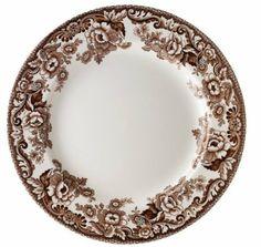 Spode Delamere Dinner Plate, Set Of 4: Amazon.com: Kitchen U0026 Dining