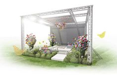 Who knew Gucci had a green thumb? The fashion house finds itself in full bloom at London's RHS Chelsea Flower Show.