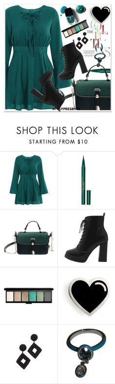 """#PolyPresents: Wish List"" by allanaaa11 ❤ liked on Polyvore featuring Stila, John Lewis, Kenneth Jay Lane and Swarovski"