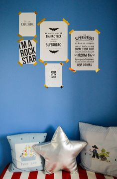 Decorating the Children's Bedrooms with Beautiful Prints from Desenio ♥