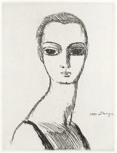 Artworks of Kees van Dongen (Dutch, 1877 - 1968) from galleries, museums and auction houses worldwide.