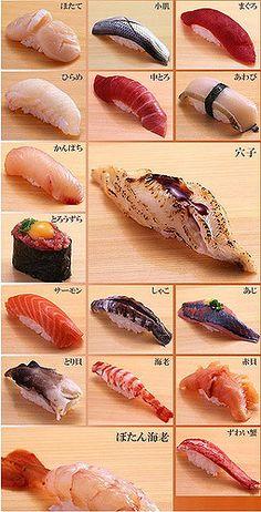 寿司   最喜欢三文鱼,不过有很多没吃过   popomore   Flickr