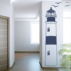 Fun wall decal for your seaside home.