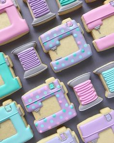 Aren't these sewing machine cookies Cute? By Hol_Fox