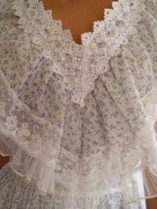 Exquisite Vintage Gunne Sax Dress Sweet Summer Size 13!