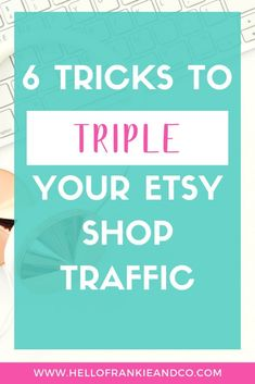 Not sure where to begin with getting traffic to your Etsy Shop? I've put together six tricks to help you repair your Etsy SEO to drive massive traffic to your shop, check it out.