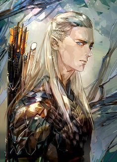 Леголас Legolas by SaigaTokihito on DeviantArt Lord Of Rings, Fellowship Of The Ring, Hobbit Art, O Hobbit, Tolkien Books, Jrr Tolkien, Lotr, Mirkwood Elves, Legolas And Thranduil