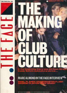 The Face Magazine UK February 1983 Club Culture Camden Palace, Night Club, Night Life, Eddy Grant, The Face Magazine, London Nightlife, Grunge, George Clinton, Artists