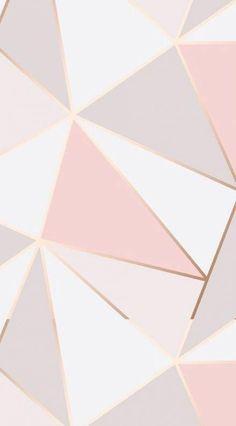 Rose gold wallpaper, pink wallpaper iphone y gold wallpaper. Geometric Wallpaper Iphone, Marble Wallpaper Phone, New Wallpaper Iphone, Rose Gold Wallpaper, Trendy Wallpaper, Tumblr Wallpaper, Iphone Backgrounds, Pretty Wallpapers, Pattern Wallpaper