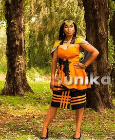 Modern Xhosa Traditional Dresses Latest Designs - Sunika Traditional African Clothes Long African Dresses, South African Fashion, African Fashion Designers, Latest African Fashion Dresses, African Print Fashion, African Wear, African Attire, African Clothes, African Prints