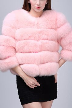It's so splendid with its fluffy fox detailing that it can provide with the warmth and style you need. It also has a hook-and-eye closure and is loose-fit…