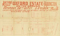 Poster Estate Map - Oxford Estate Paddington