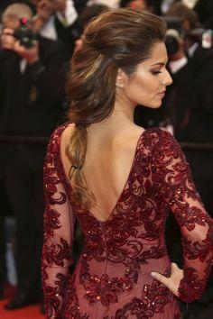 Cheryl Cole. #casamento #penteados #tranças #convidadas #famosas