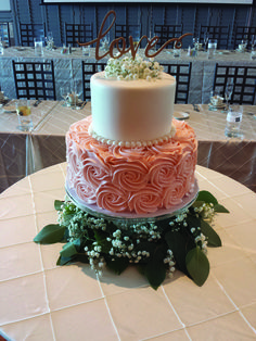 Image result for 2 tier wedding cakes