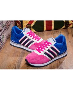 NEO 10K Jogger Adidas Womens Lifestyle Sneaker Pink Pow Game Royal Black  White Specials �56.00