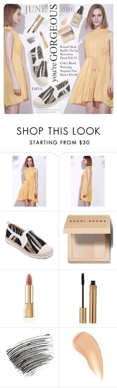 """""""Hot Spring Days"""" by pokadoll ❤ liked on Polyvore featuring Bobbi Brown Cosmetics, Dolce&Gabbana, Yves Saint Laurent, Charlotte Tilbury, polyvoreeditorial, polyvorefashion, polyvoreset and zaful"""