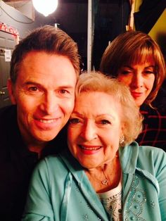Tim Daly, Betty White, and Wendie Malick