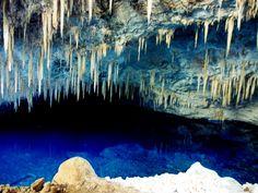 Blue Lake Cave, Bonito, Mato Grosso do Sul, Brazil