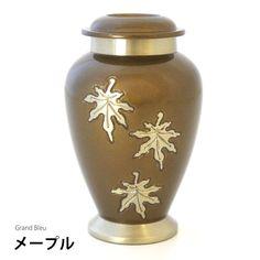 仏壇に入れられる分骨用ミニ骨壷・グランブルーメープル
