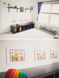 Montessori bedroom for a one year old limited amount of for Ideas para decorar tu recamara